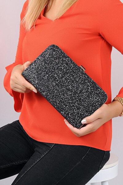 Siyah Kadın Portföy Çanta C0143-18