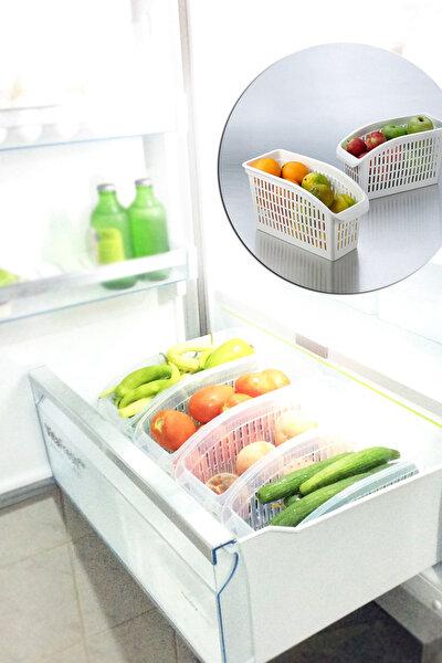 2'li Buzdolabı İçi Düzenleyici