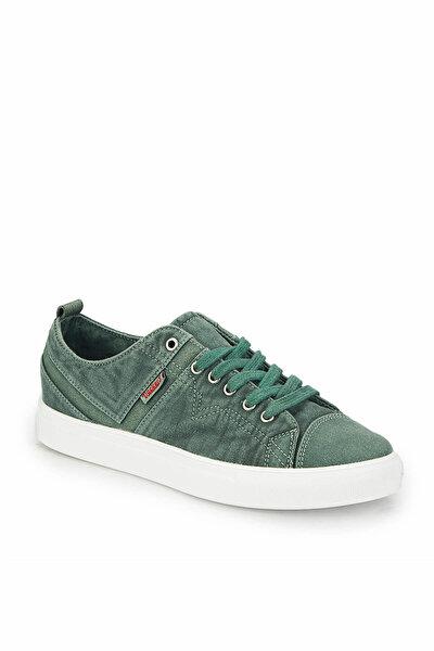 224920 Yeşil Erkek Kalın Taban Sneaker Spor Ayakkabı 100297702