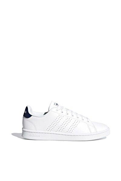 F36423 Beyaz Beyaz Koyu Mavi Erkek Tenis Ayakkabısı 100409052