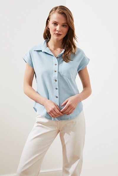 Mint Klasik Gömlek TWOAW20GO0081