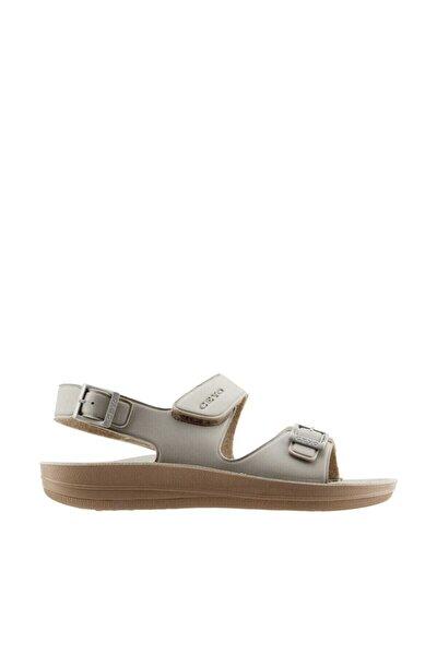 Bej Kadın Sandalet 10021