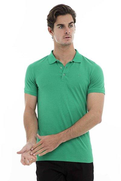 Erkek Yeşil Polo Yaka T-Shirt - 43619090