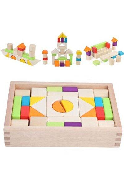 Yüksek Kalitede 30'lu Vernikli Ahşap Blok Puzzle (yapboz) Eğitici Oyuncak