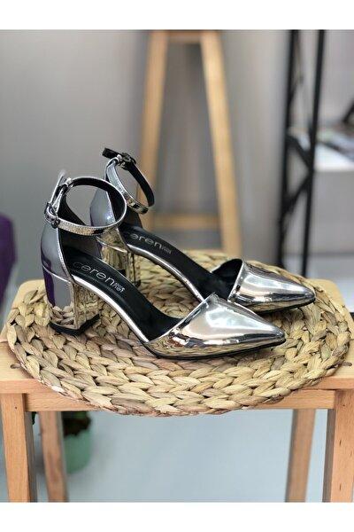 Valerya Yan Yüz Ayna Topuklu Ayakkabı