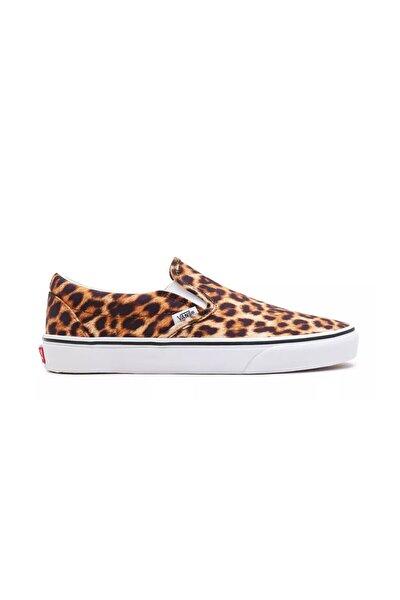 Kadın Kahverengi Leopar Classic Slip-on  Ayakkabısı Vn0a5ao83ı61
