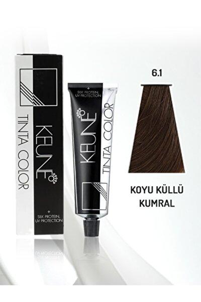Tinta Color Saç Boyası 60 ml No: 6.1 Koyu Küllü Kumral