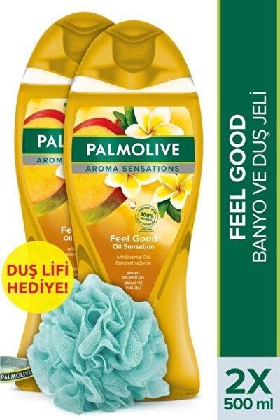 Aroma Sensations Feel Good Ipeksi Banyo Ve Duş Jeli 2 X 500 ml + Duş Lifi Hediye