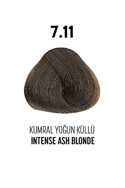 7.11 / Kumral Yoğun Küllü - Intense Ash Blonde - Glamlok Saç Boyası