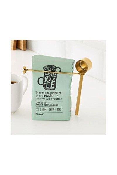 Tempererad Kahve Ölçeği Ve Klips Pirinç Rengi