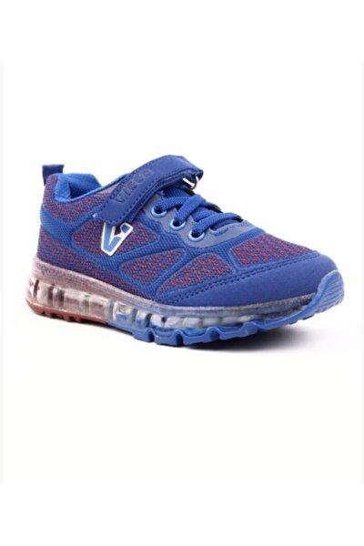 214 Erkek Çocuk Saks Mavi Spor Ayakkabı