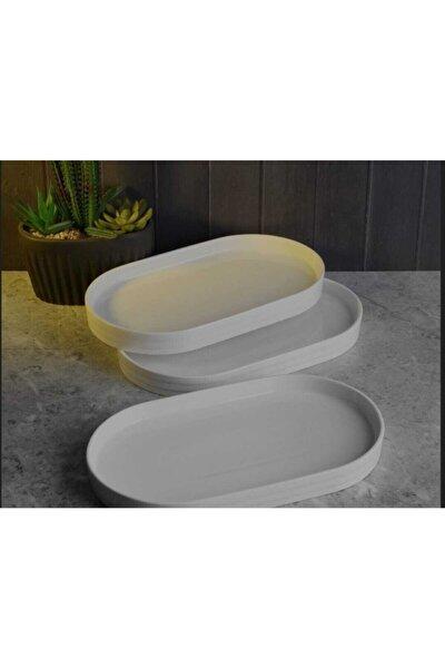 Pago Porselen Oval Tabak