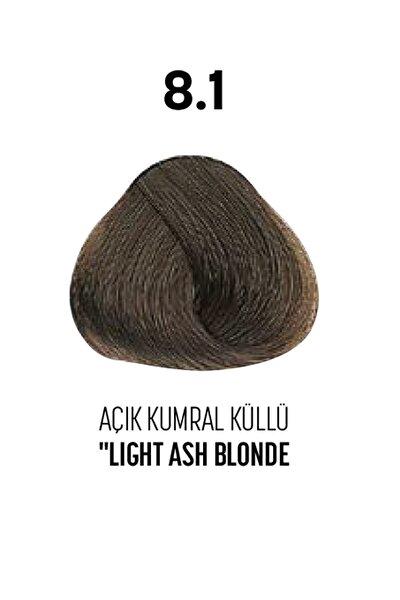 8.1 / Açık Kumral Küllü - Light Ash Blonde - Glamlook Saç Boyası