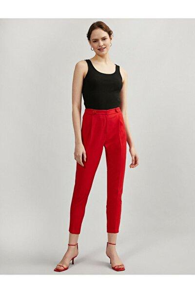 Kadın Kırmızı Pantolon