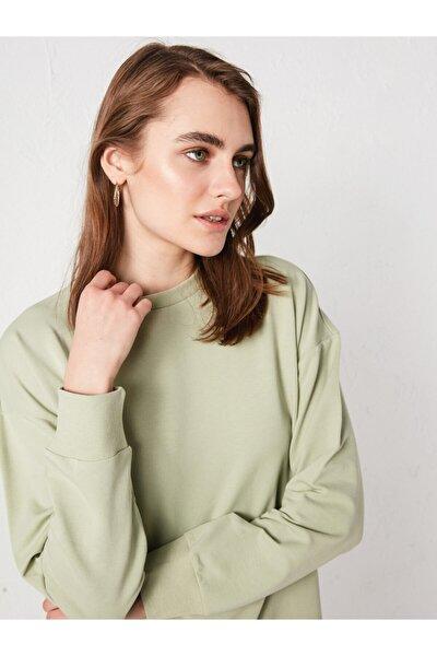 Kadın Yeşil Sweatshirt