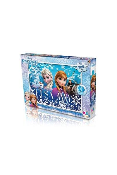 200 Parça Frozen Yapboz