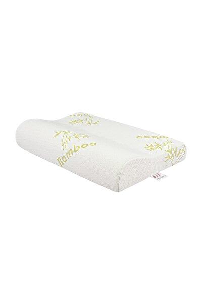 Visco Foam Bamboo Boyun Destekli Ortopedik Yastık Visco Yastık