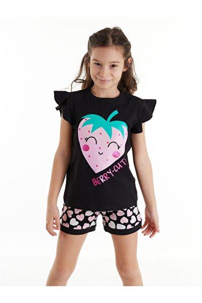 Berry Cute Kız Şort Takım
