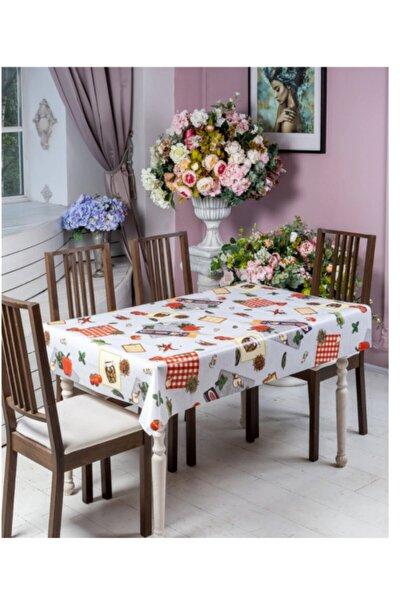 Masa Örtüsü Kahvaltılık Desenli Kare
