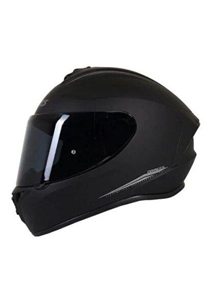 Kask Draken Matt Black Motosiklet Kaskı