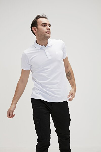 BASIC POLO WHITE