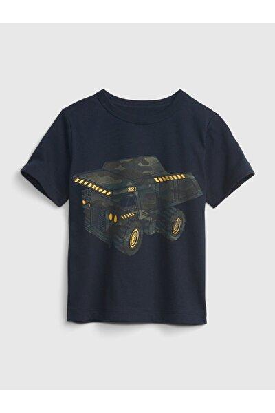 Organik Pamuklu Grafik T-shirt