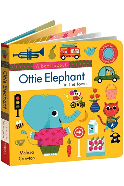 A Book About Ottie Elephant In The Town