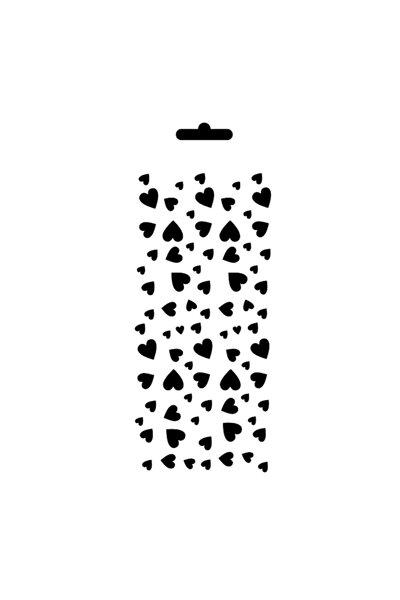 Stencıl Şablon 10*25cm Mu49