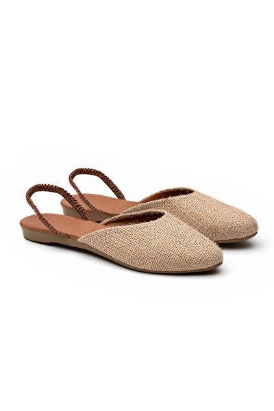 Kadın Hasır Sandalet TS1044