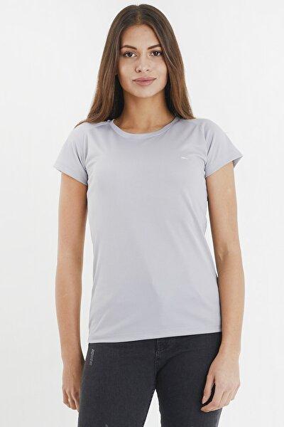 RELAX Kadın T-Shirt Gri ST11TE050