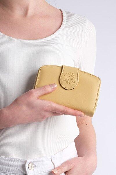 Kadın Sarı Telefon Bölmeli Cüzdan Forita