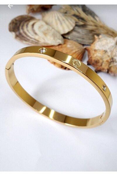 Çelik Bileklik Gold
