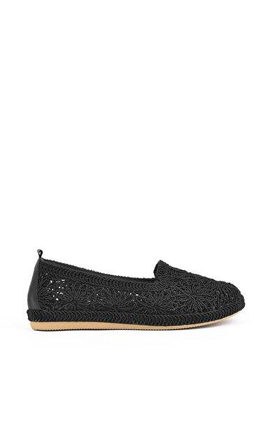 , Kadın Ayakkabı 111415 Z303004 Sıyah