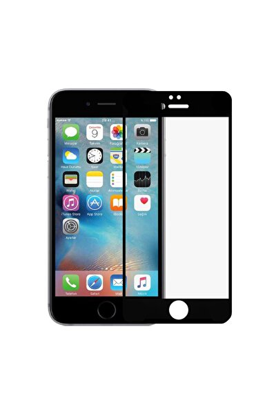 Iphone 7 Plus / 8 Plus Siyah Mat Seramik Nano Ekran Koruyucu