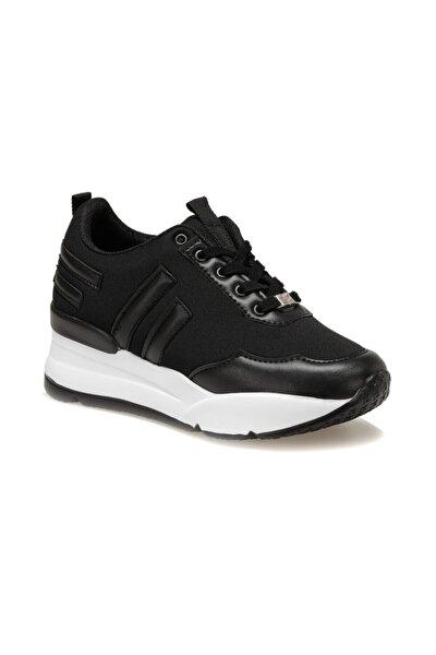Z003-19IY Siyah Kadın Kalın Taban Sneaker Spor Ayakkabı 100397622