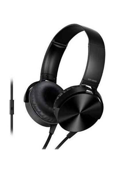 Bilix 1011 Siyah Extra Bass Mikrofonlu Mp3 Kulaklık