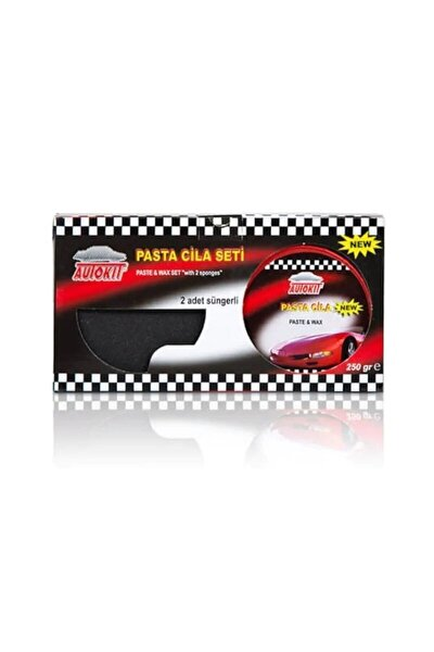 2 Adet Süngerli Araç Pasta Cila Seti Araba Bakım Onarım Set