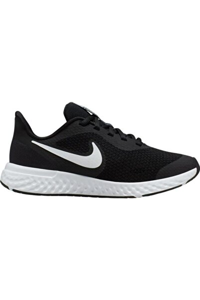 Unisex Çocuk Siyah Revolution 5 Gs Ayakkabı Bq5671-003
