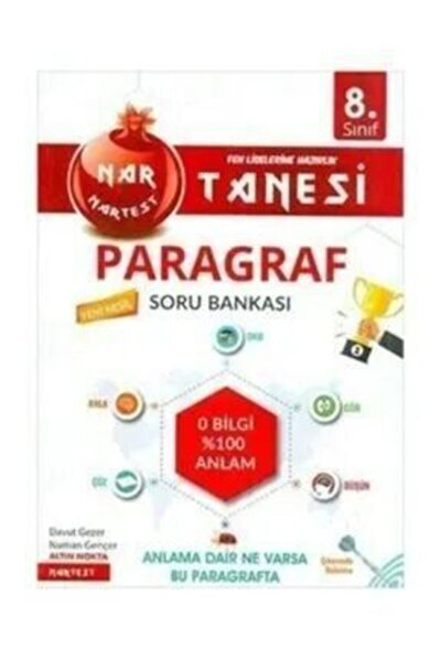 8.Sınıf Nar Tanesi Paragraf Soru Bankası