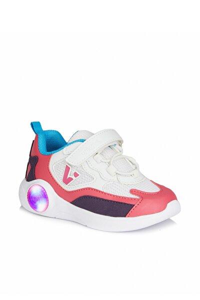 Yoda Kız Bebe Beyaz/fuşya Spor Ayakkabı