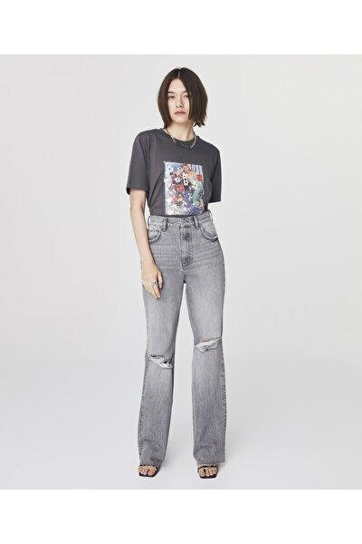 Pul Baskılı T-shirt