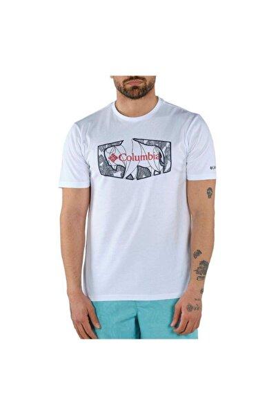 Erkek Roam Hex Graphic Kısa Kollu  Tişört
