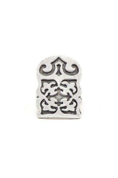 Antik Gümüş Kaplama Ayarlanabilir Yüzük 120020
