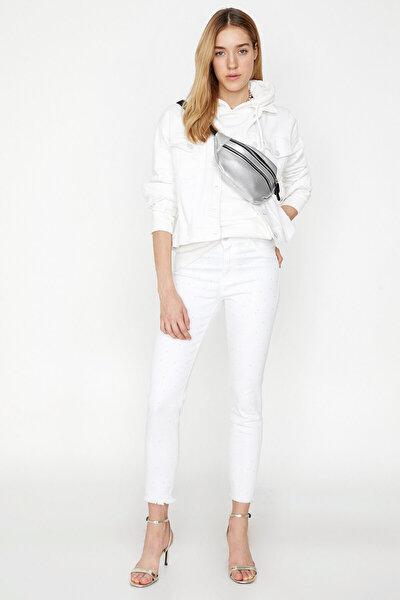 Kadın Beyaz Jean 8YAL41182JD