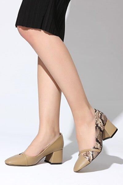 Vizon Kadın Topuklu Ayakkabı 11112014766-2-02
