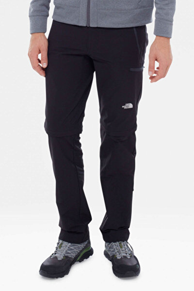 Erkek Pantolon - Exploration Convertible Lacivert Siyah Pantolon - THET0CL9QE60JK3