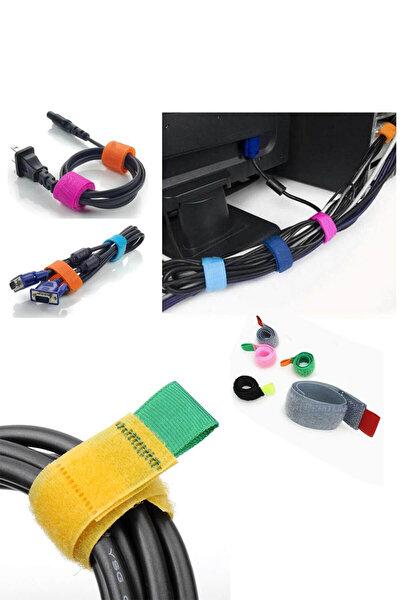 Cırtlı Kablo Toparlayıcı (12 Adet)
