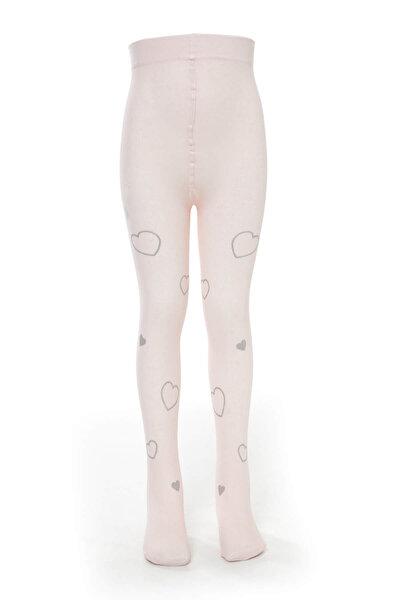 Çocuk Pembe Külotlu Çorap KTSOAHYB0030