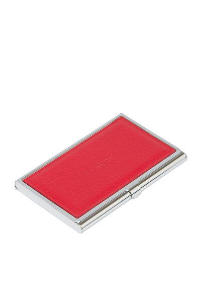 Hakiki Deri Kırmızı Unisex Kredi Kartlık S1KK00000195