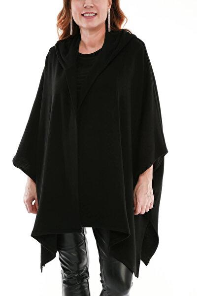 Kadın Siyah Celine Siyah Hırka fw01679jb
